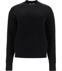 alexander mcqueen jacquard sweater