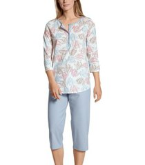calida tender nights crop pyjama