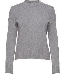 carole stickad tröja grå dagmar