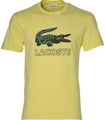 lacoste t-shirt - slim fit - geel