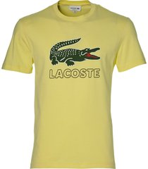 lacoste t-shirt - slim fit - geel
