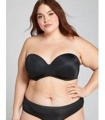 lane bryant women's multi-way boost strapless bra 38b black