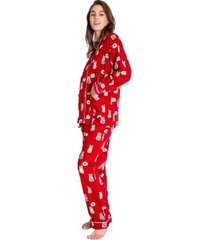 pj salvage meow and furever flannel pyjama * gratis verzending *