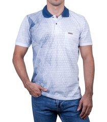 camiseta tipo polo-azul petroleo-puntazul-41349