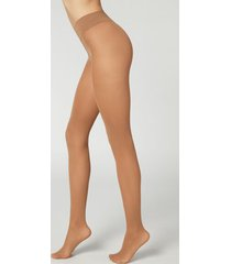 calzedonia 30 denier total comfort soft touch tights woman nude size 1/2