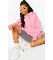 basic oversized hoodie, candy pink