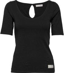 odd appealing top t-shirts & tops short-sleeved zwart odd molly