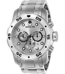reloj invicta acero modelo 00lh para hombres, colección pro diver
