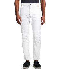 g-star raw men's 3d slim-fit pants - white - size 32 36