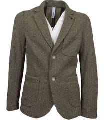 men's knitted blazer