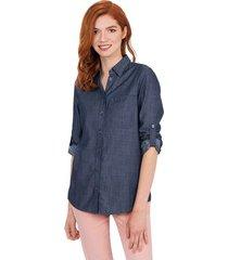camisa  tapabocas mujer colección antiviral 07753