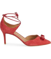 carolyn tie ankle pumps