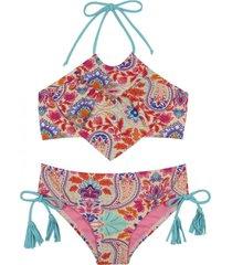 bikini vuelos uv30 beige h2o wear
