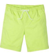 shorts lunghi elasticizzati regular fit (verde) - rainbow