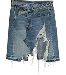 r13 norbury denim skirt