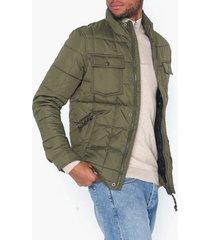premium by jack & jones jprlambert quilt jacket jackor mörk grön