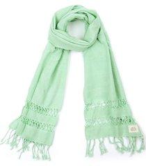 pañuelo entrenudo verde humana
