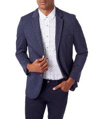men's 7 diamonds blake trim fit sport coat, size xx-large - blue