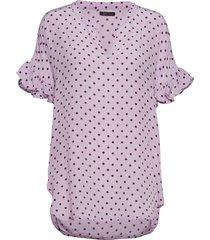 viona blouses short-sleeved roze stella nova
