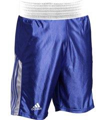 pantaloneta de boxeo adidas amateur azul