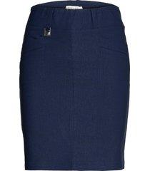 embrace skort kort kjol blå röhnisch