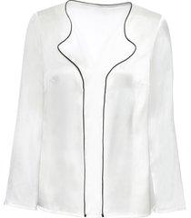 camicia con bordi a contrasto (bianco) - bodyflirt