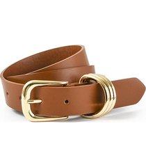 cinturón marrón amphora haibi