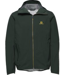 outline jkt m outerwear sport jackets groen salomon