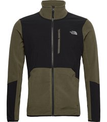 m glacier pro full z sweat-shirts & hoodies fleeces & midlayers groen the north face