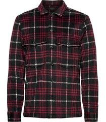 berthold ls shirt overhemd casual zwart allsaints