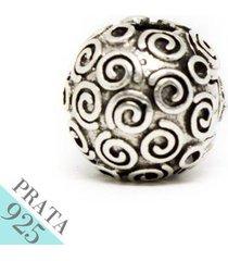pingente prata 925 trava de rococo memories kumbayá joias