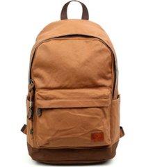 tsd brand urban light coated canvas backpack