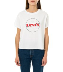 levi's t-shirt donna graphic varsity tee 69973-0153