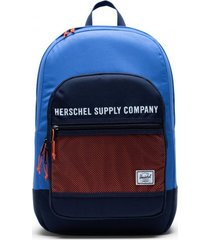 herschel rugzak supply co. athletics kaine amparo blue peacoat vermillion orange