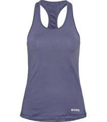 racerback tank cle cle t-shirts & tops sleeveless blå björn borg