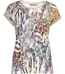 geisha 12420-60 sarah 905 t-shirt fancy rib pr. 05-21-2 army multi animal