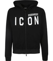 dsquared2 icon zip hoodie