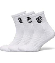 gila ankle tech socks 3 pack ankelstrumpor korta strumpor vit bidi badu