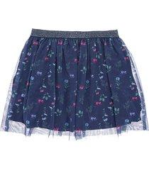 minifalda azul  offcorss
