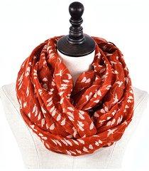 donna soft voile warm ring collo collar sciarpa casual elegante sciarpe warmer cowl collar circle sciarpa