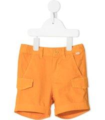 il gufo multi-pocket shorts - orange