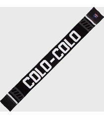 bufanda polar negro colo colo urbano