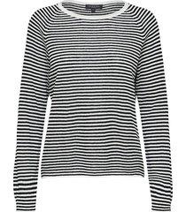 trui astrid knit black stripe