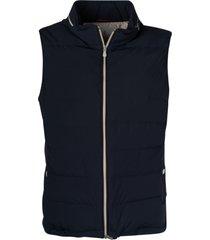 brunello cucinelli regular fit padded vest