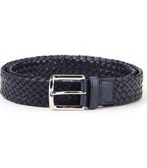 churchs woven belt