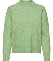 anour o-n 7355 stickad tröja grön samsøe samsøe