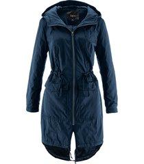 giubbotto outdoor con cappuccio e imbottitura leggera (blu) - bpc bonprix collection