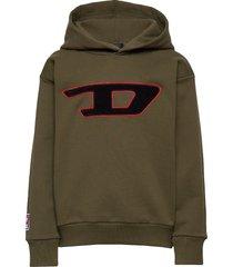 sdivision-d over sweat-shirt hoodie trui groen diesel