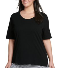 jockey plus size cotton pajama t-shirt