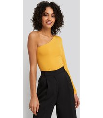na-kd basic body med en axel - yellow